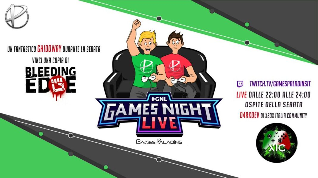 gnl games night live 21 maggio 2020