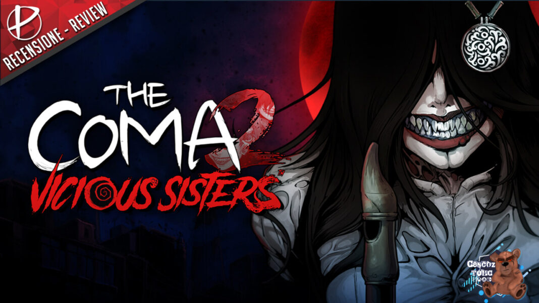 The Coma 2 Vicious Sisters recensione review Cescoz TOHC nintendo switch games paladins nindies indie free game demo.png