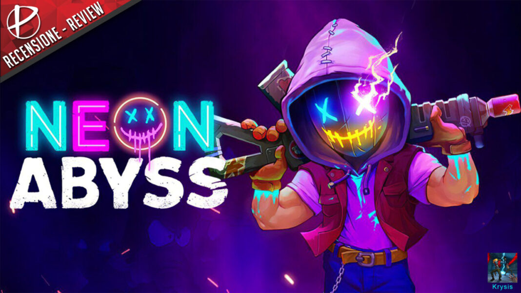 Neon Abyss recensione review Krysis nintendo switch games paladins nindies indie free game demo.png
