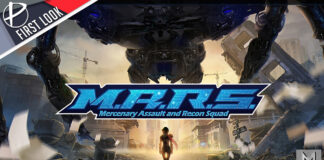 MARS Mercenary Assault and Recon Squad first look review Wihordd Milos PC Steam Epic Games Store Windows indie free game demo